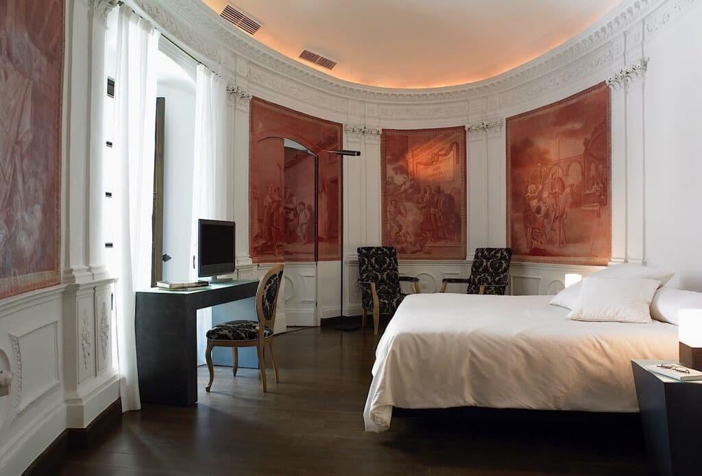 Melhores hotéis em Córdoba - quarto Hospes Bailio