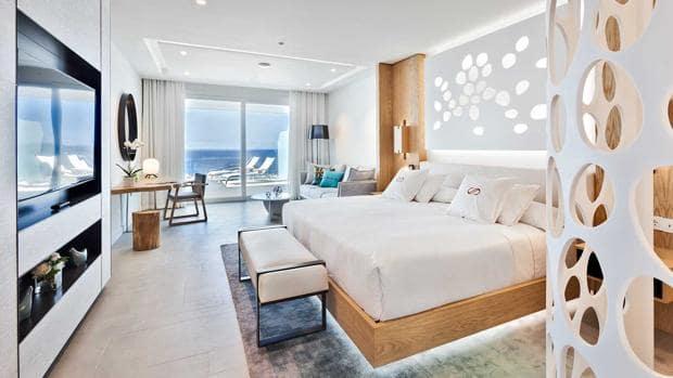 Hotel Royal Hideaway Corales Suites em Tenerife - quarto