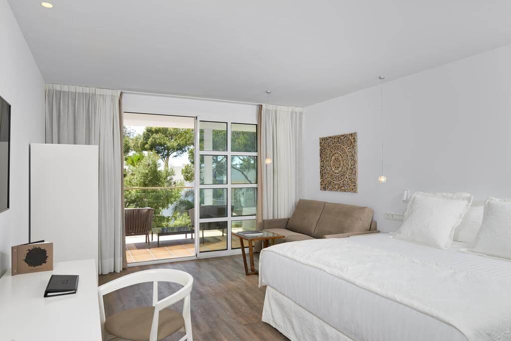 Hotel Meliá Cala d'Or Boutique em Maiorca - quarto