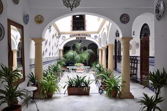 Hotel Maestre em Córdoba - pátio interior