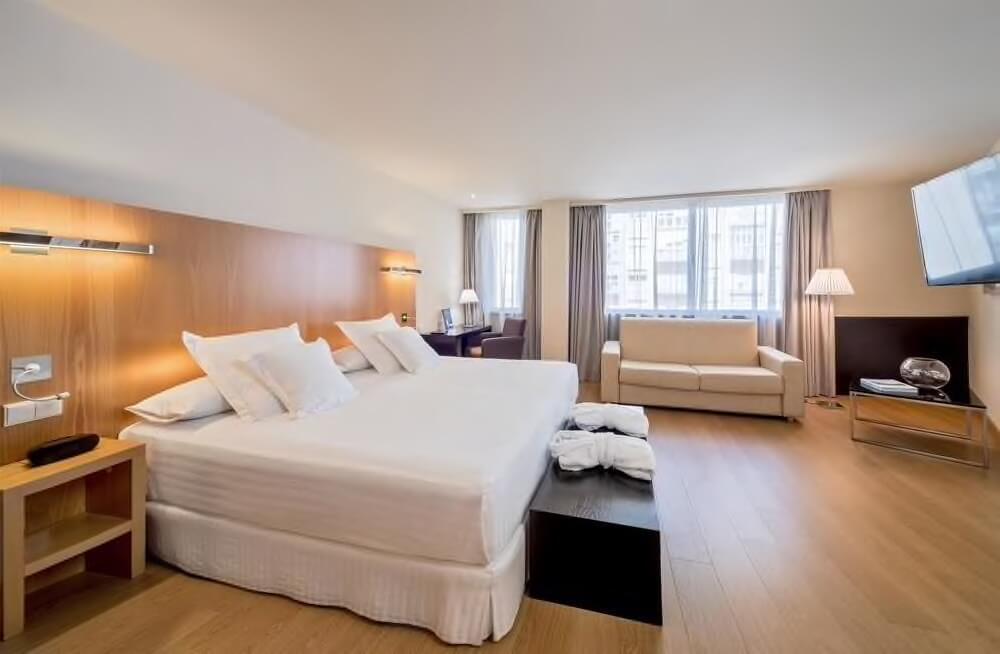 Hotel em Cádiz - quarto