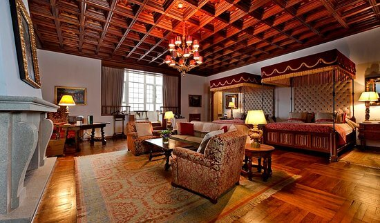 Quarto do Hotel Parador em Santiago de Compostela