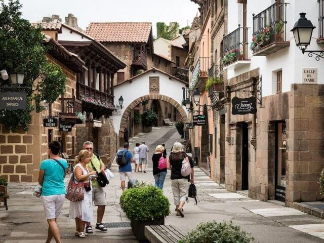 Poble Espanyol em Barcelona