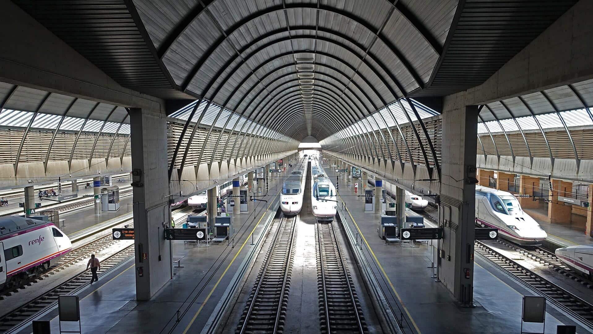 Estação de trem Sevilha Santa Justa