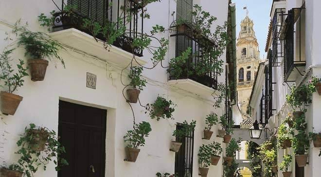 Centro histórico de Córdoba - vista da Catedral