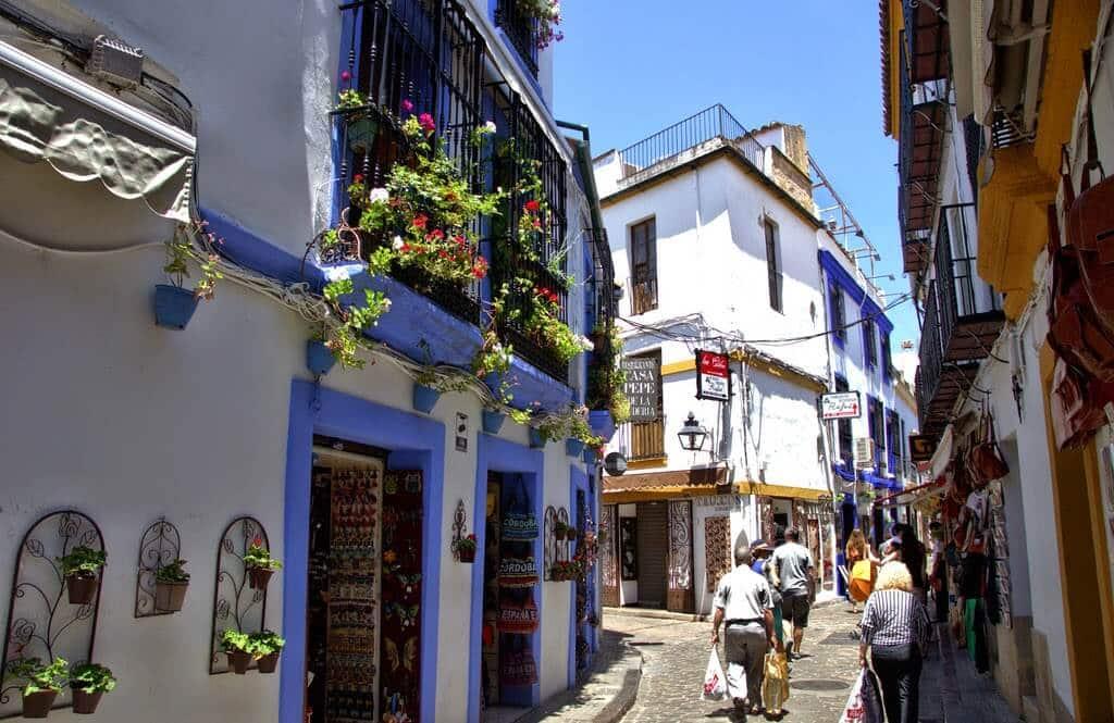 Ruas da Judería em Córdoba
