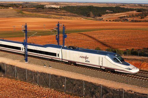 Viagem de trem de Valência a Madri