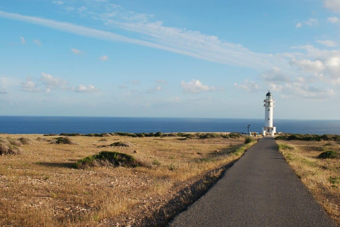 Farol Cap de Barbaria em Formentera