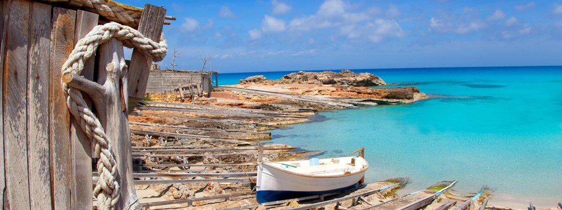 Paisagem de Formentera
