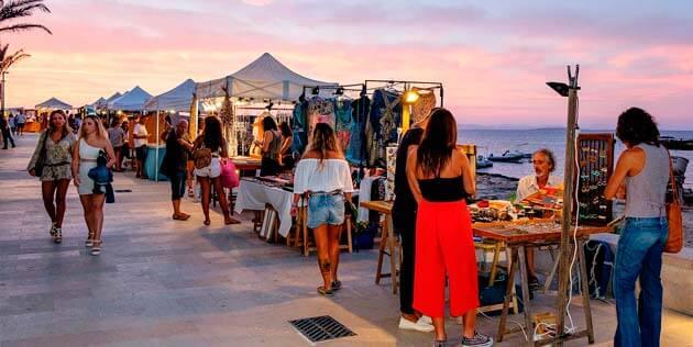 Mercado Es Pujols em Formentera