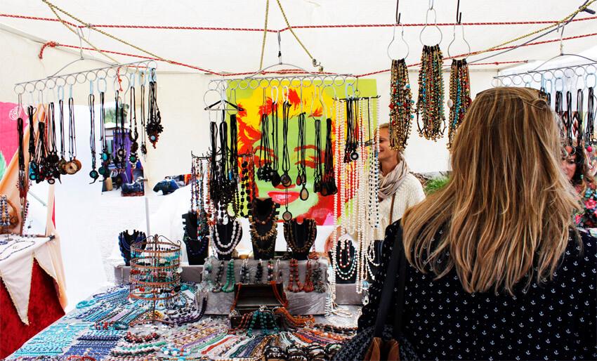 Mercado de Sant Francesc em Formentera