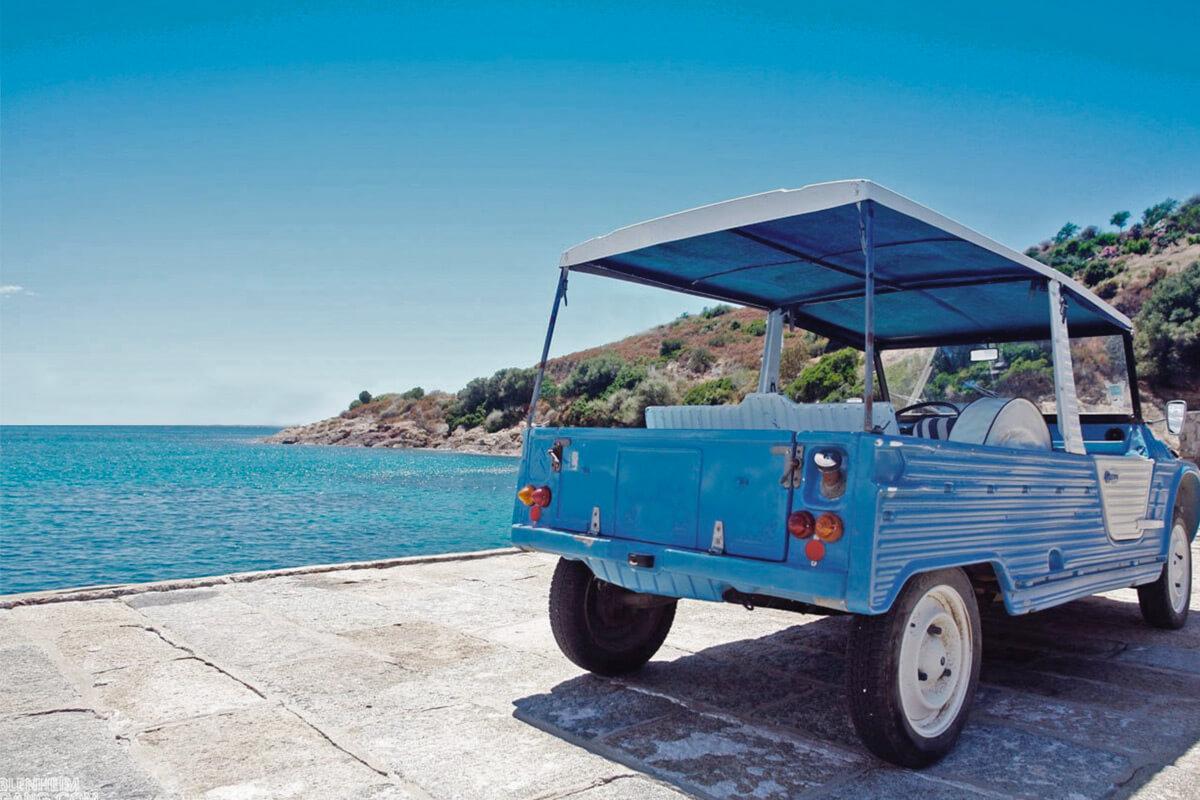 Carro em Formentera