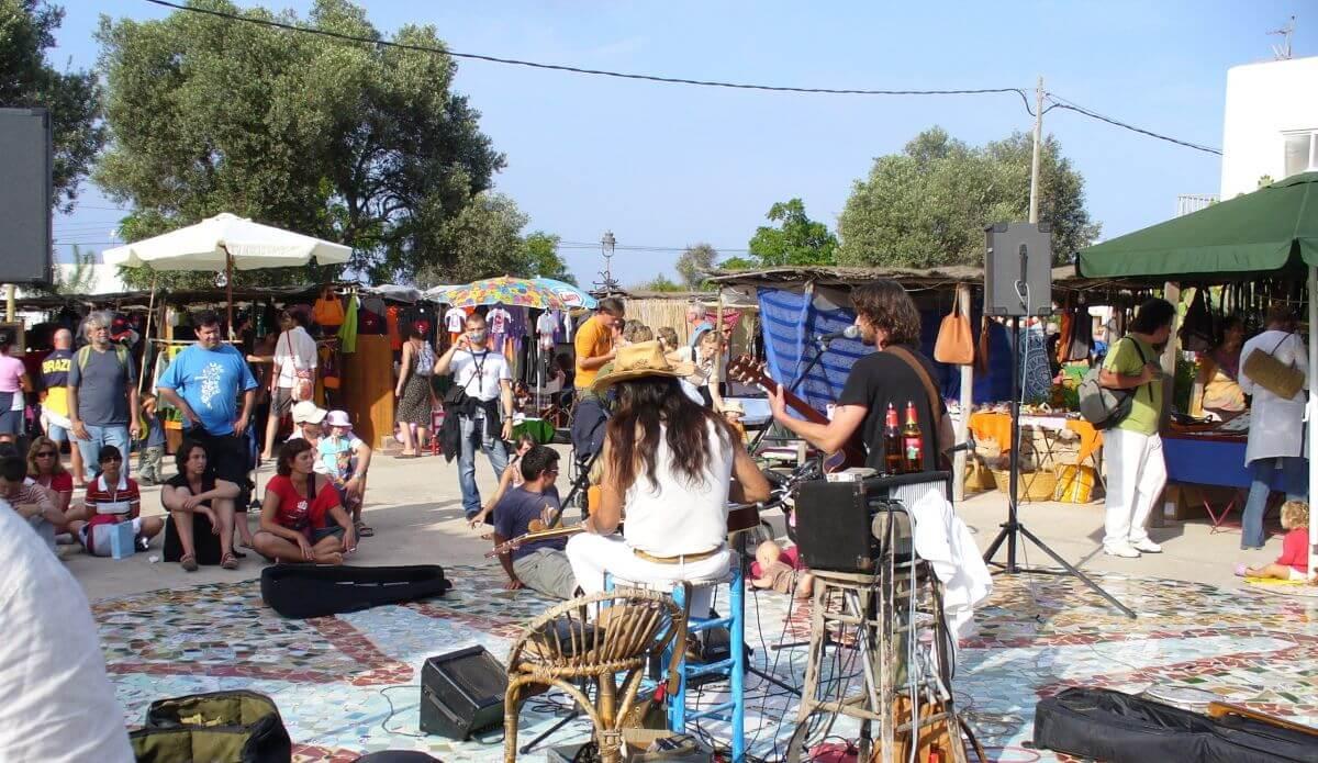 Mercado de La Mola em Formentera