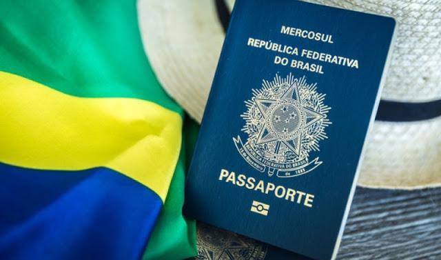 Passaporte brasileiro para viajar