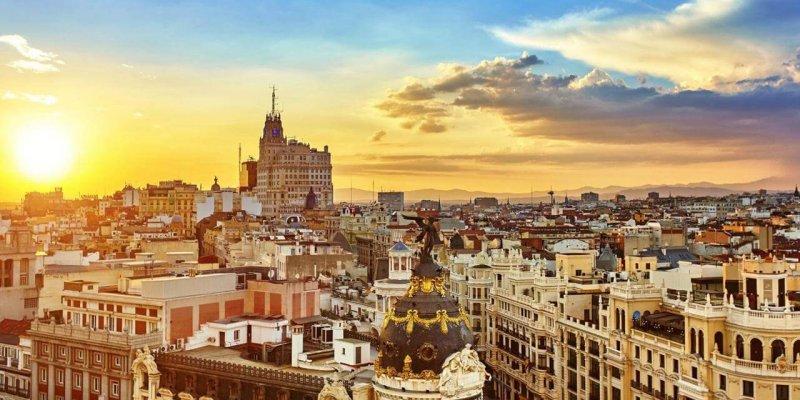 Vista de Madri