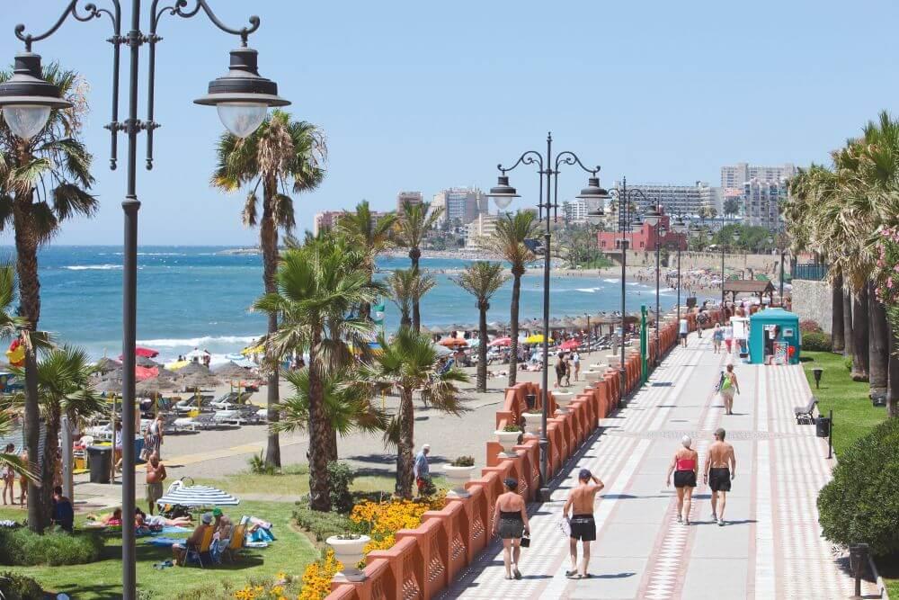 Passeio marítimo de Málaga