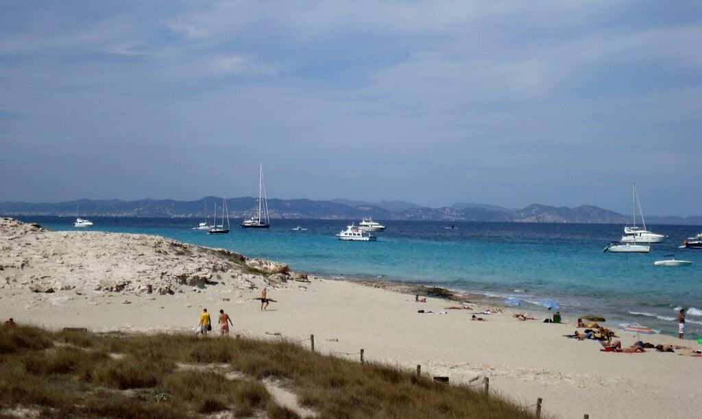 Platja de Llevant em Formentera