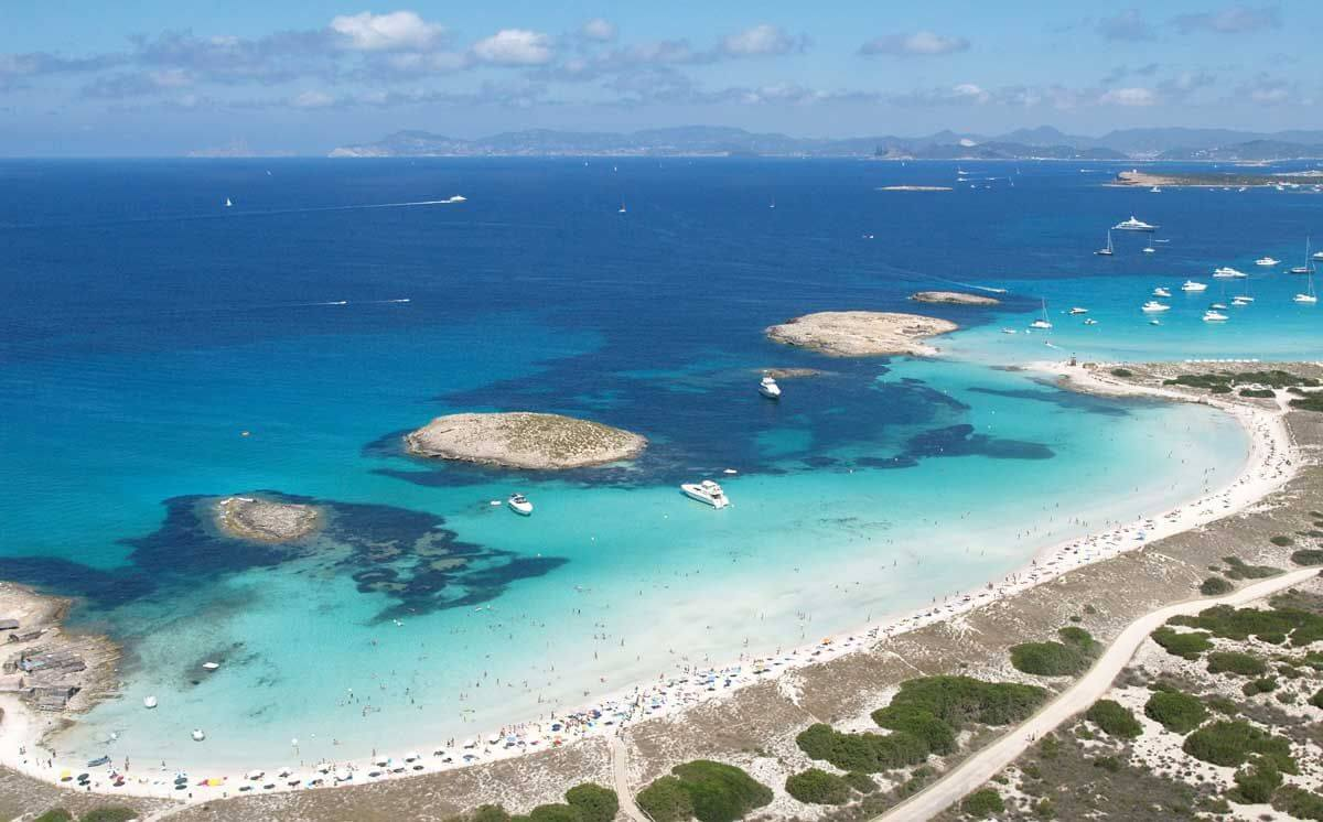 Playas d'Illetes em Formentera
