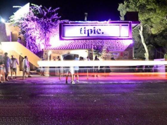 Balada Típic Club em Formentera
