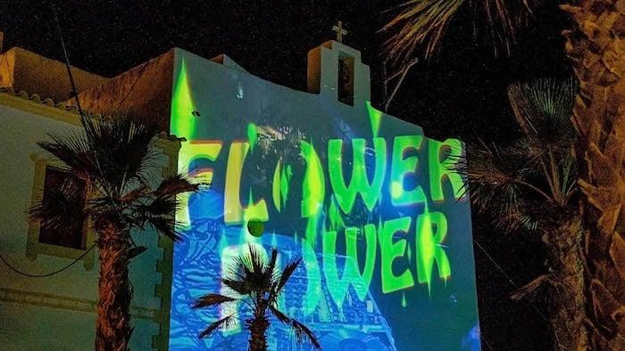 Festa Flower Power em Formentera