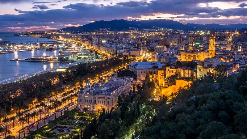 Noite em Málaga