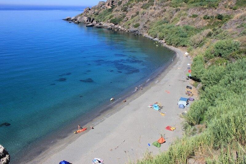 Playa de La Caleta em Málaga