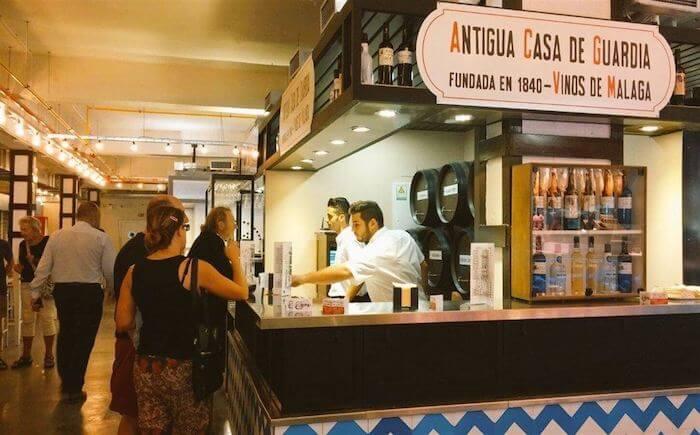 Restaurante Antigua Casa de Guardia em Málaga