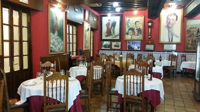 Restaurante Chinitas em Málaga