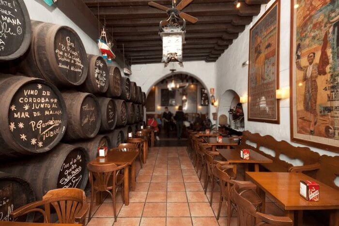 Restaurante El Pimpi em Málaga