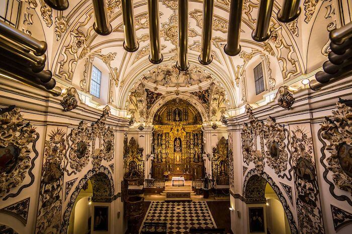Igreja dos Descalços em Ecija