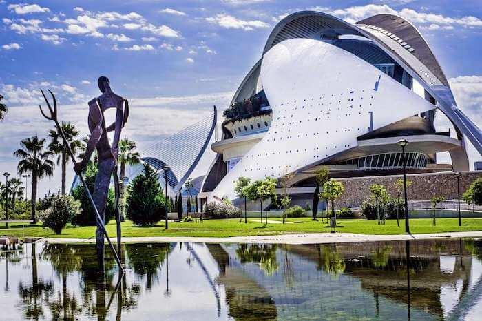 Cidade das Artes e Ciências em Valência