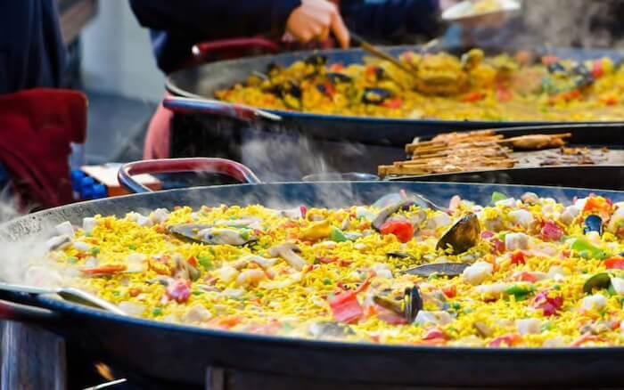 Passeio gastronômico por Valência - paella