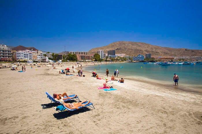 Playa de los Cristianos em Tenerife