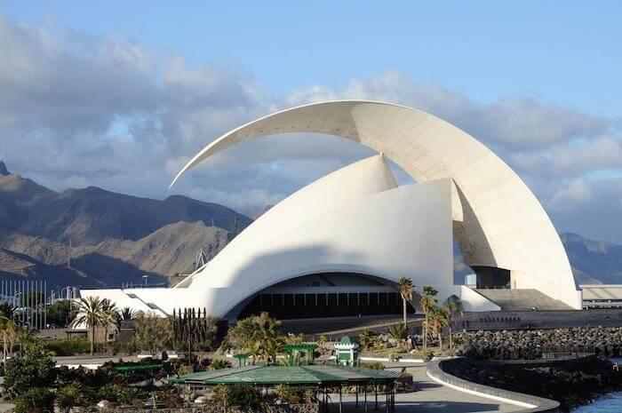 Auditório em Santa Cruz de Tenerife