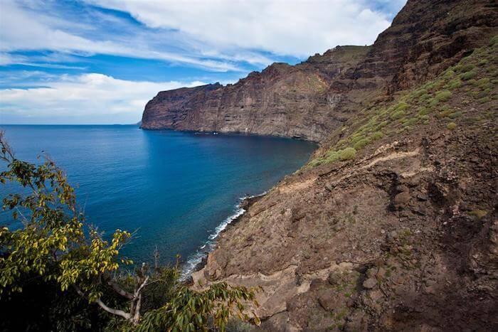 Falésias Los Gigantes em Tenerife