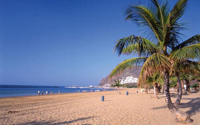 Praias de Tenerife - Las Teresitas