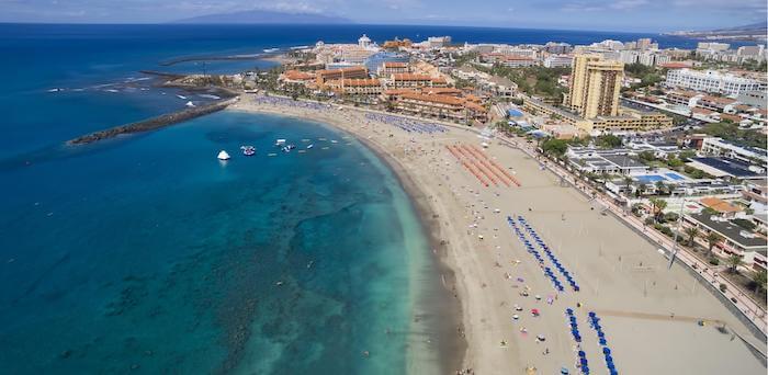 Playa de las Américas em Tenerife