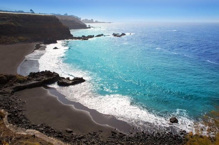 Playa El Bollullo em Tenerife