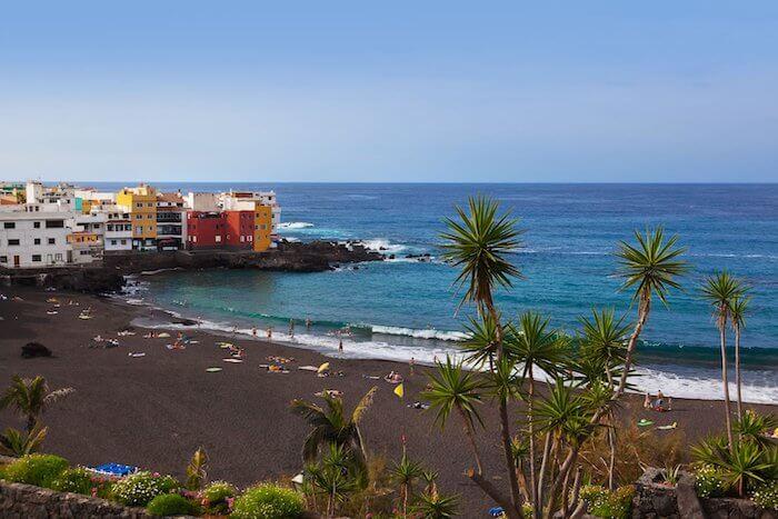 Praias de Tenerife - Playa Jardin