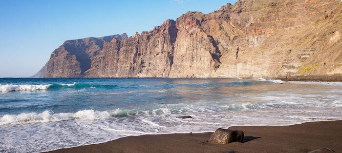 Playa Los Gigantes em Tenerife