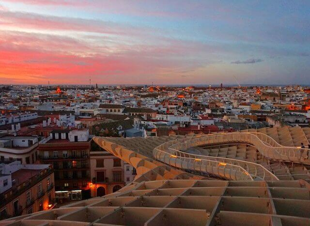 Roteiro de três dias em Sevilha