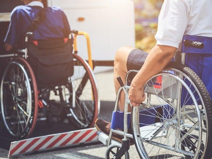 Transporte para Portadores de Deficiências