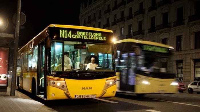 Ônibus noturnos