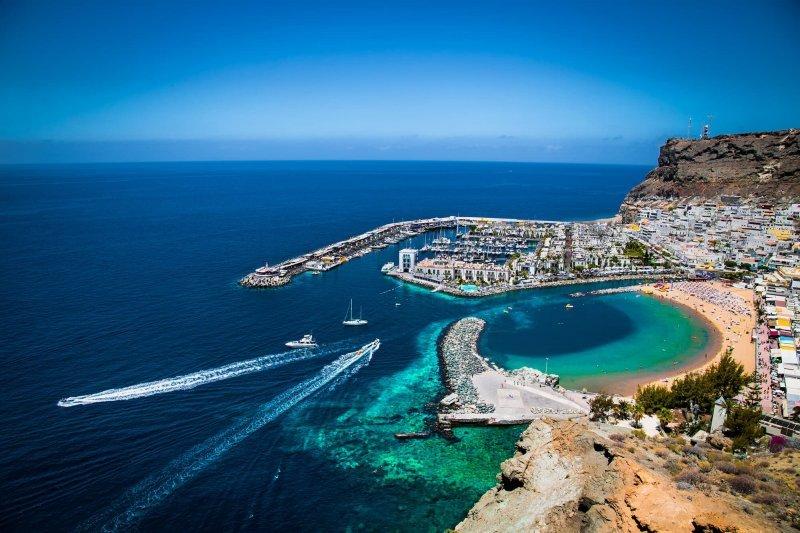 Vista da Gran Canaria