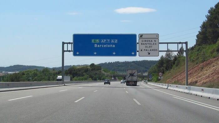 Rodovias em Catalunha