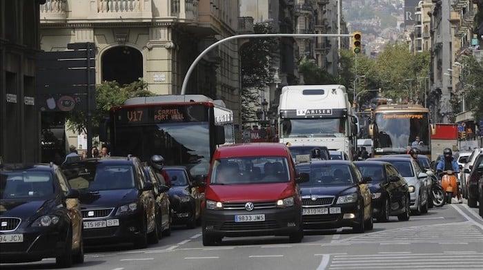 Trânsito em Barcelona