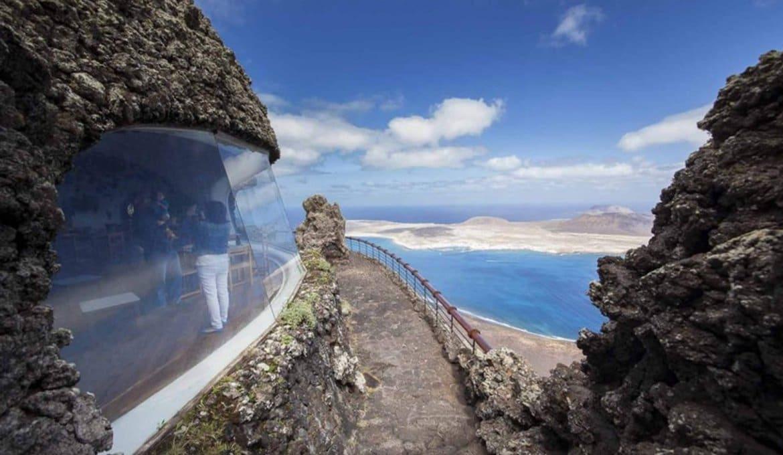 Mirador Del Rio em Lanzarote