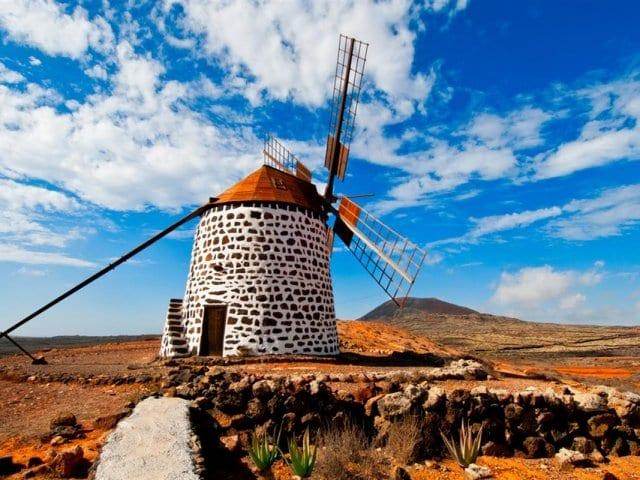 Moinho em Fuertaventura