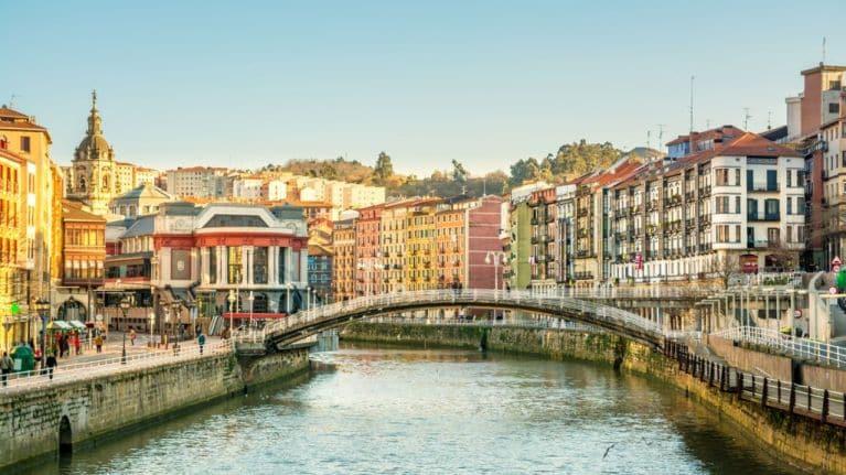 Outono em Bilbao