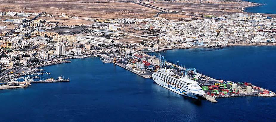 Puerto del Rosario em Fuerteventura